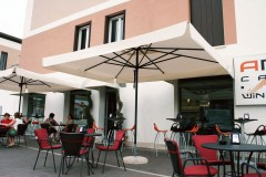 Napoli, italienischer Alu-Marktschirm
