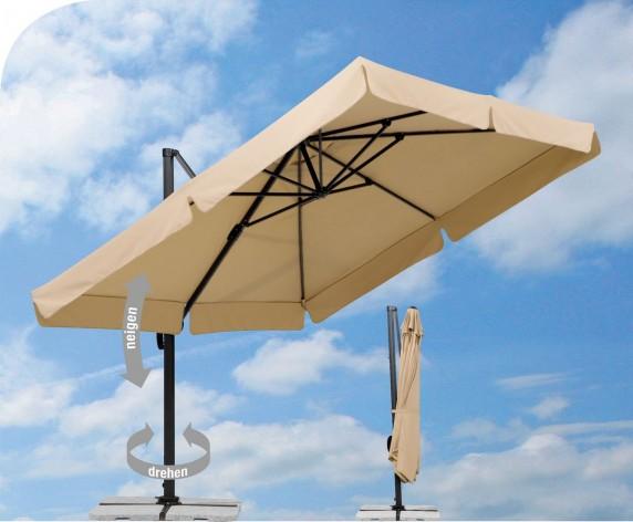 sonnenschirm bespannung ersatz paramondo sonnenschirm ampelschirm bezug schirmbezug bespannung. Black Bedroom Furniture Sets. Home Design Ideas