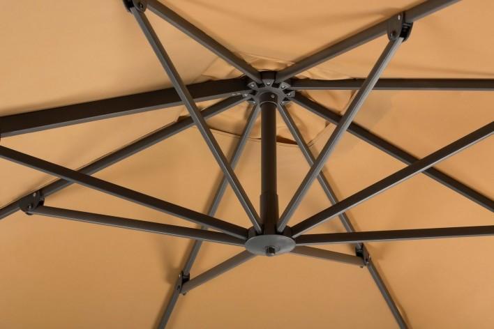 Rhodos, leichter Alu-Ampelschirm