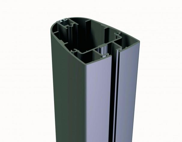 Z Singlepole, Alu-Ampelschirm mit Gasdruckfeder