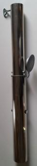 Bodenhülse mit Bajonettverschluss bis 38mm aus Aluminium