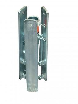 Klappständer, Stahl galvanisch verzinkt bis 55mm Mastdurchmesser