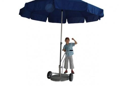 Transportkarre für Schirmständer