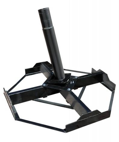 Capri, Alu-Gastroschirm mit Teleskop-Vorrichtung