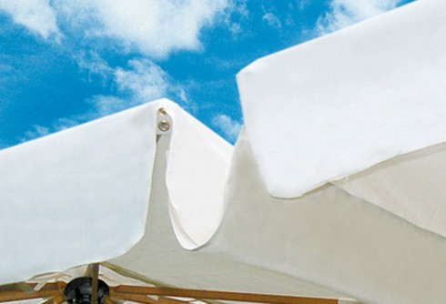Regenrinne aus Polyacryl für Esche-Schirme di creco