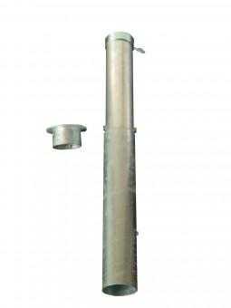 Bodenhülsen Bajonettverschluss bis 60mm feuerverzinkt