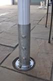 Spezial-Bodenhülse, Stahl verzinkt für Aluschirm Manhattan