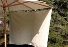 Sonnenblende für Esche-Schirm di-creco