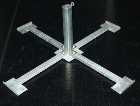Plattenkreuz 48-55 mm, feuerverzinkt
