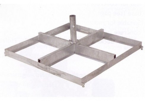 Rahmen-Ständer für 8 Platten