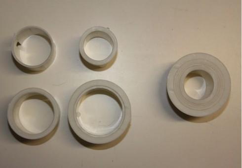 Bodenhülsen Bajonettverschluss bis 50mm Aluminium