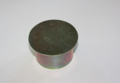 Abdeckkappe aus Stahl galvanisch verzinkt für Bodenhülsen HS53 und HS55