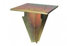 Bodenanker Stahl galvanisch verzinkt für Scolaro Ampelschirme