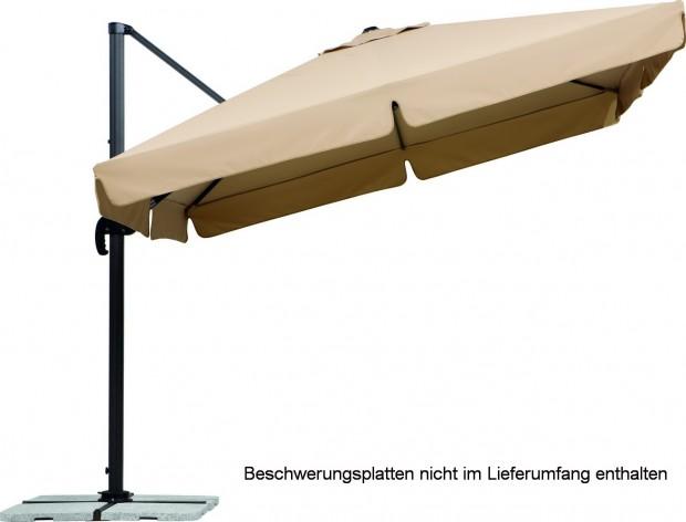 ampelschirm rhodos rondo finest drehbar schneider rhodos rondo cm sand ampelschirm neigbar. Black Bedroom Furniture Sets. Home Design Ideas