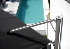 Spezial-Wandhalterung, Stahl verzinkt, drehbar für Z Singlepole