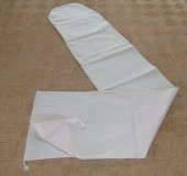 Schutzhüllen aus Baumwoll-Segeltuch, naturfarben
